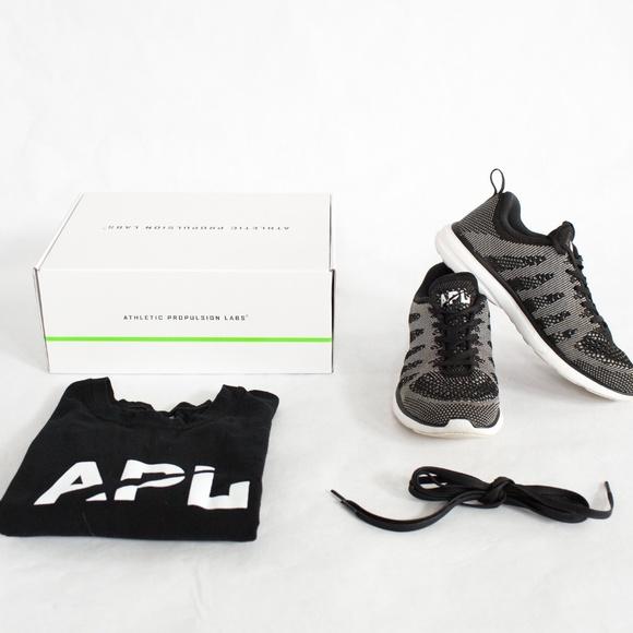 f4946d0fa93e APL Shoes - APL Women s TechLoom Pro (Black Pristine White)